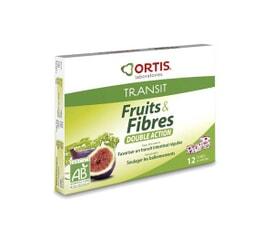 Fruits et Fibres Double action 12 cubes Bio